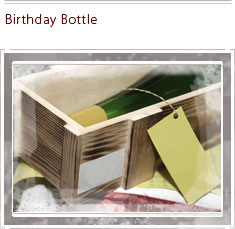 Birthday Bottle